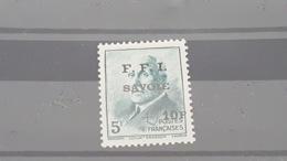 LOT507186 TIMBRE DE FRANCE NEUF* LIBERATION SAVOIE - Liberation