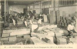 51 LE CHAMPAGNE EMBALAGE DES VINS DE CHAMPAGNE  MM. G. H. MUMM ET COMPAGNIE - Other Municipalities