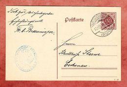 DP 13/04 Ziffer, Oberamt Weinsberg, Nach Eschenau 1918 (95476) - Wuerttemberg