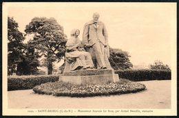 D7893 - Saint Brieuc Monument Anatole Le Braz Par Armel Beaufils Statuaire - Monumentos