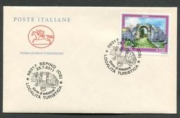 FDC ITALIA 2011 - CAVALLINO - LOCALITA' TURISTICA - SEPINO - 280 - 6. 1946-.. Republik