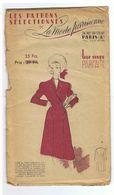 Redingote Croisée Est De Coupe Très Amincissante  Les Patrons Sélectionnés De La Mode Parisienne Année 1930 - Patterns