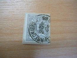(30.06) BELGIE 1884  Nr 43 Mooie Afstempeling - 1869-1888 Lion Couché (Liegender Löwe)