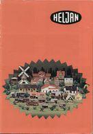 Catalogue HELJAN 1985 Katalog  HO 1/87 - N 1/160 - En Danois, Allemand, Anglais Et Français - Libros Y Revistas