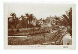 CPA LIBAN - BEYROUTH - QUARTIER SURSOCK - Líbano