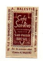 étui De Protection Philatéliste Offert Les Cafés San-Rivo Création A. Balestié - Format : 4x6.5 Cm - Documentos Antiguos