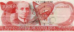COSTA RICA 1000 COLONES 2005  P-264f    XF - Costa Rica