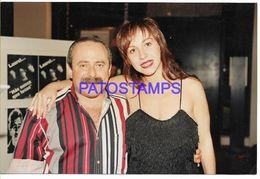 136700 ARGENTINA ARTIST JORGE GUINZBURG & ANA ACOSTA ACTOR HUMORISTA PHOTO NO POSTAL POSTCARD - Fotografía