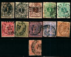 19253) BELGIO LOTTO DIFRANCOBOLLI USATI - 1849-1850 Medaillen (3/5)