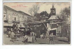 CPA LIBAN - BEYROUTH - CAFE TURC SUR LA PLACE DES CANONS - Líbano