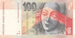 100 KORUN SLOVENSKA BANKNOTE, Umlaufschein - Slovaquie