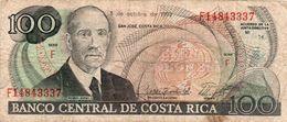 COSTA RICA 100 COLONES 1990 P-261a  Circ. - Costa Rica