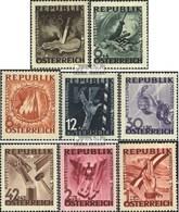 Österreich 776-783 (kompl.Ausg.) Gefälligkeitsentwertung Gestempelt 1946 Antifaschistische Ausstellung - 1945-60 Usados