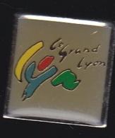 65816- Pin's-le Grand Lyon. - Villes