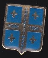 65818- Pin's-Châlons-en-Champagne, Anciennement Châlons-sur-Marne,Foire 1991 - Villes