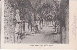 Gand - Les Ruines De St. Bavon - Gent