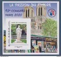 "#           ¤¤   Yvert FFAP N° 17 - ""93° Congrès PARIS 2020"" - Neuf**  Luxe ¤¤ - FFAP"