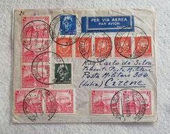 Busta Di Lettera Per Via Aerea Da Roma Per Cirene (Libia) P.M. 304 25/04/1940 - Marcophilia