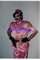 136703 ARGENTINA ARTIST HORACIO FONTOVA 1946 - 2020 ACTOR HUMORISTA PHOTO NO POSTAL POSTCARD - Fotografía