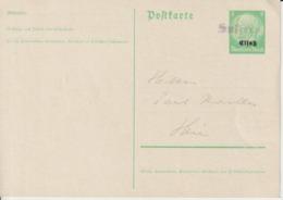 France:Alsace.Entier  Postal  5 Pfg - Alsace-Lorraine