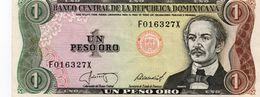 REPUBLICA DOMINICANA 1 PESO ORO 1987 P-126b1    Aunc - República Dominicana