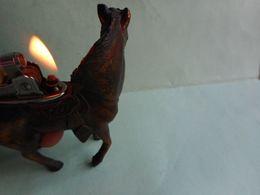 BRIQUET CHEVAL HORSE LIGHTER Feuerzeug ENCENDEDOR ACCENDINO AANSTEKER 打火机 Léttari Ljusare ライター /////////// - Briquets