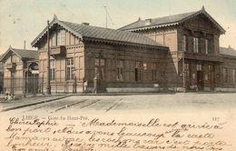 Liège.--Gare Du Haut-Pré.(Couleurs) - Liege
