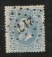 1872. OBP 31b , Mooi Gecentreerd - 1883 Leopold II