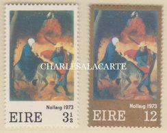 EIRE IRELAND 1973  CHRISTMAS  S.G. 334-335  U.M. - Nuovi