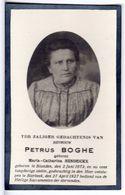 Doodsprentje VROUW FEMME Maria HENDRICKX °1872  BLANDEN +1927 BIERBEEK // BOGHE - Andachtsbilder