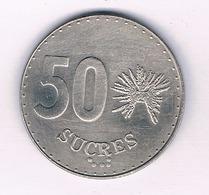 50 SUCRES 1991 ECUADOR /5238/ - Ecuador