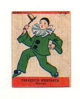 Image Série 111 N°12 Travestis D'enfants Pierrot Pour Album Jospeh-Milliat 1935 - Format : 6x5 Cm - Other