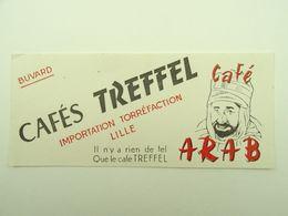 BUVARD CAFES TREFFEL CAFE ARAB LILLE - Café & Thé