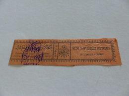 B-106 , Banderoles Pour Les Cigares étrangers, 12 Cigares, Régie Co-intéréssée Des Tabacs De L'Empire Ottoman - Etiquettes