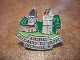 Lot 062 -- Pin's Amities Allemans Du Dropt Dietwiller - Villes
