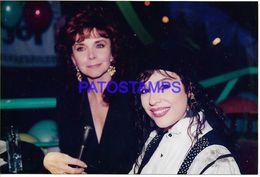 136709 ARGENTINA ARTIST CAROLINA PAPALEO & SULMA FAIAD ACTRESS PHOTO NO POSTAL POSTCARD - Fotografía