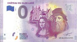 BS-14 - CLOS LUCÉ - Château Du Clos Lucé (500ème Anniversaire De La Mort De Léonard De Vinci) 2020-6 - EURO