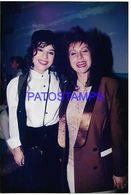 136710 ARGENTINA ARTIST CAROLINA PAPALEO & ANA ACOSTA ACTRESS PHOTO NO POSTAL POSTCARD - Fotografía