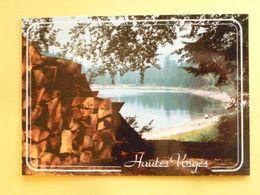 V10-88--vosges-regard Sur Les Vosges- Lac De Blanchemer-pile De Bois-- - France