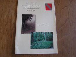 CEHG Revue N° 53 Gedinne Régionalisme Archéologie Poteau De Morval Bois Fouilles Tombelles Longchamps Ardenne Longchamp - Belgium
