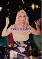 136716 ARGENTINA ARTIST SUSANA GIMENEZ ACTRESS CINEMA TEATRO & TV 12.5 X 17.5 CM  PHOTO NO POSTAL POSTCARD - Fotografía