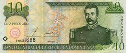 DOMINICAN REPUBLIC  10 PESOS ORO 2000 P-159a.2  AUNC - República Dominicana