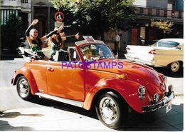 136719 ARGENTINA ARTIST RIKY MARAVILLA SINGER CANTANTE TROPICAL 12.5 X 17.5 CM  PHOTO NO POSTAL POSTCARD - Fotografía