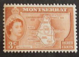 MONTSERRAT YT 132 NEUF**  ANNÉE 1953 - Montserrat