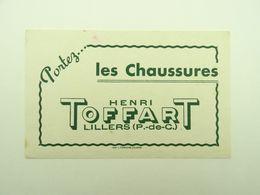 BUVARD LES CHAUSSURES HENRI TOFFART LILLERS 62516 - Zapatos