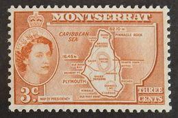 MONTSERRAT YT 132 NEUF(*)  ANNÉE 1953 - Montserrat