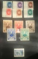 LOT 12 VIGNETTES  - JOFFRE - PETAIN - Commemorative Labels