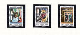 GABON 874/76  LUXE NEUF SANS CHARNIERE MNH - Gabon (1960-...)