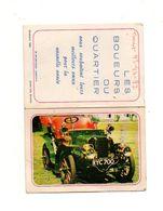 Petit Calendrier 1973 Les Boueurs Du Quartier Avec Photo Gladiator 1903 - Format: 13x9.5cm - Kalenders