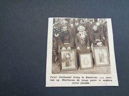 "Origineel Knipsel ( 4958 ) Uit Tijdschrift "" Zondagsvriend ""  1936 :   Pater Nathaniel  Casterlee  Kasterlee - Non Classés"